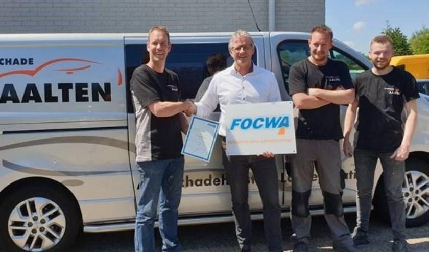 Autoschade Aalten lid van FOCWA. Foto: PR