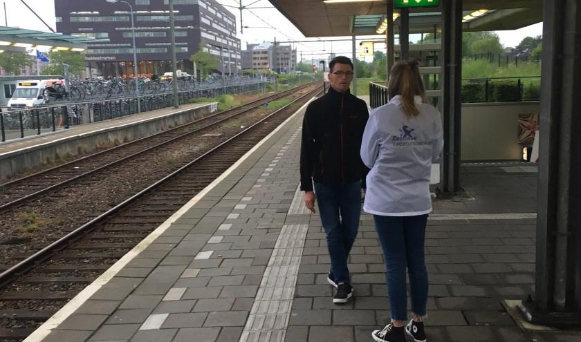 Op het station in Middelburg zijn dit voorjaar enquêtes afgenomen.