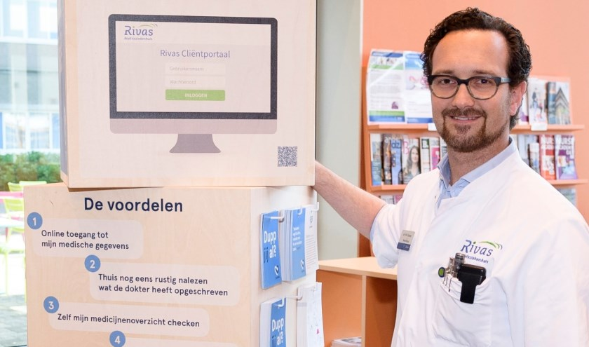 Neuroloog Robert Chabot, Beatrixziekenhuis. (Foto: Richard van Hoek)