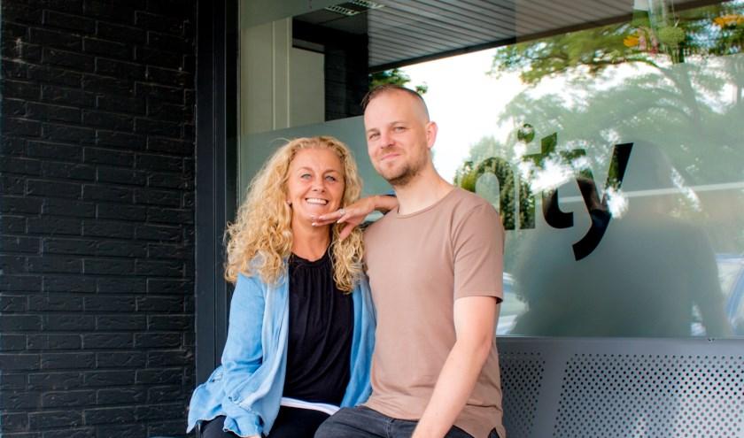 Lisette van der Meulen en Martijn Verschuuren.