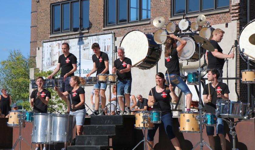 The Shuffle Percussion Group keert terug op de Achterhoek Spektakeltoer. Foto: Henk Oltvoort
