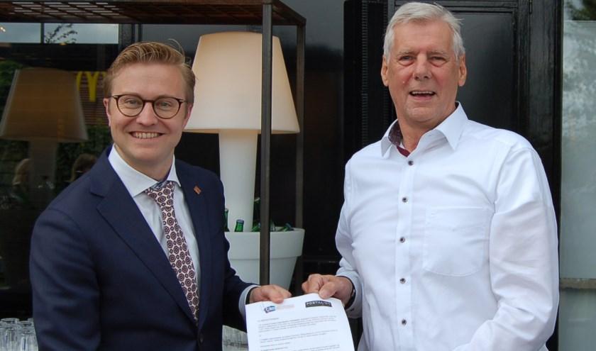 Het partnerschapsovereenkomst werd afgelopen week ondertekend.