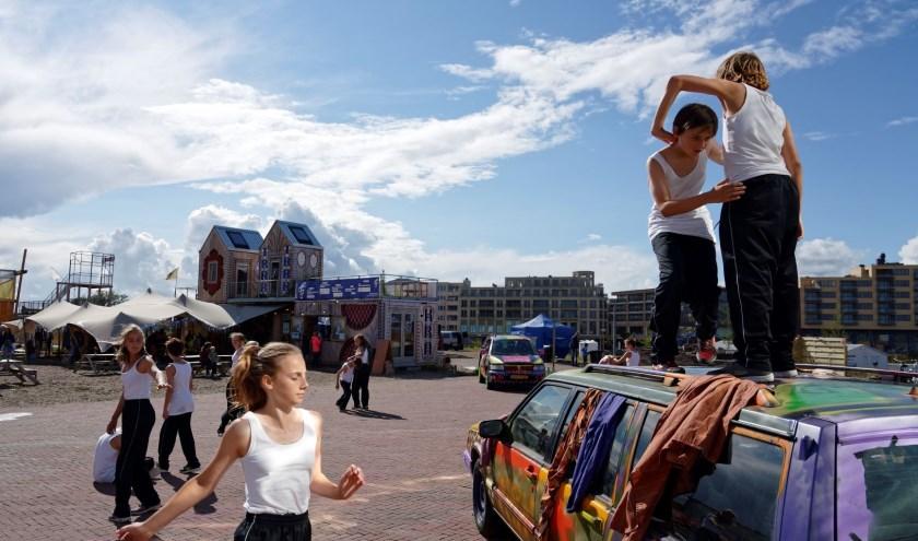 De BerlijnLijn laat zien dat er in Leidsche Rijn van alles te doen is. Foto: PR