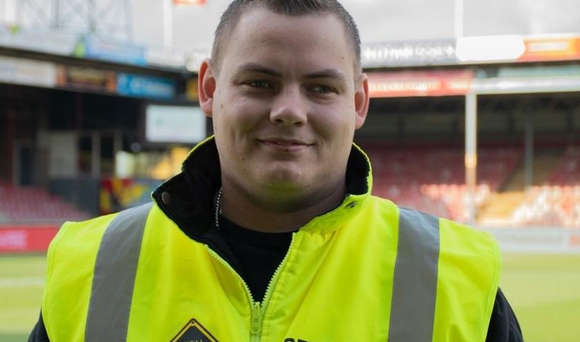 Wesley Karsenberg: 'In de periode als steward heb ik al veel vrienden gemaakt. Stewards helpen elkaar ook altijd.'