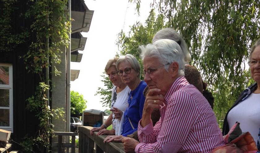 'Wandelen in de wijk' dook in de geschiedenis van de Volmolen.