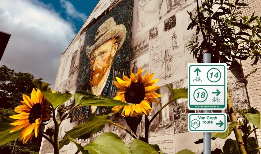 De Van Goghroute is vernieuwd. Bovendien zorgt een app voor meer beleving. Foto: VisitBrabant
