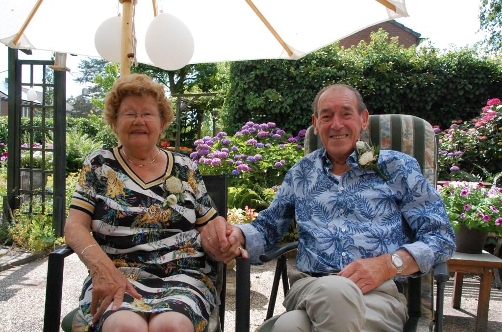 Gert Klok en Hennie Klok-Nellestein vierden 30 juni hun 65-jarig huwelijk.  © DPG Media