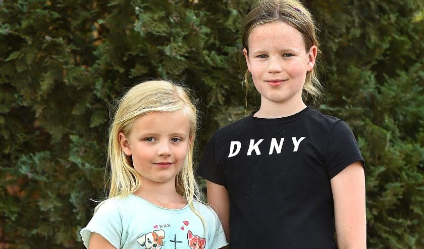 Nora en Femke.