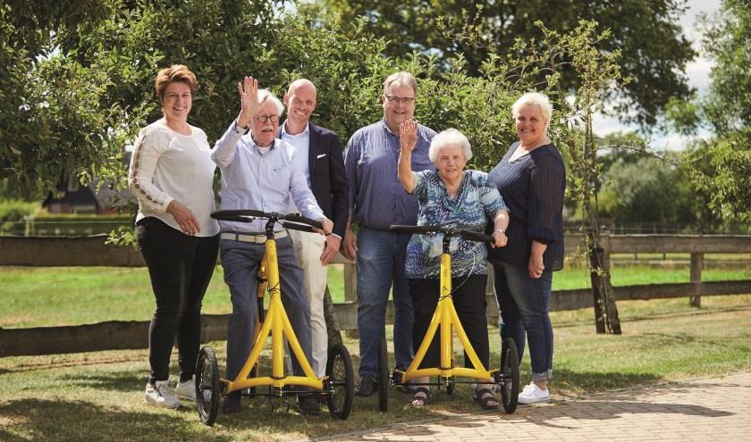 Daniëlle Kamphuis, Jaap Don, Jerry Blekkenhorst (de Zandstuve), Jan Manenschijn (Garage Manenschijn), Hennie Noppers en Janine Heuver.