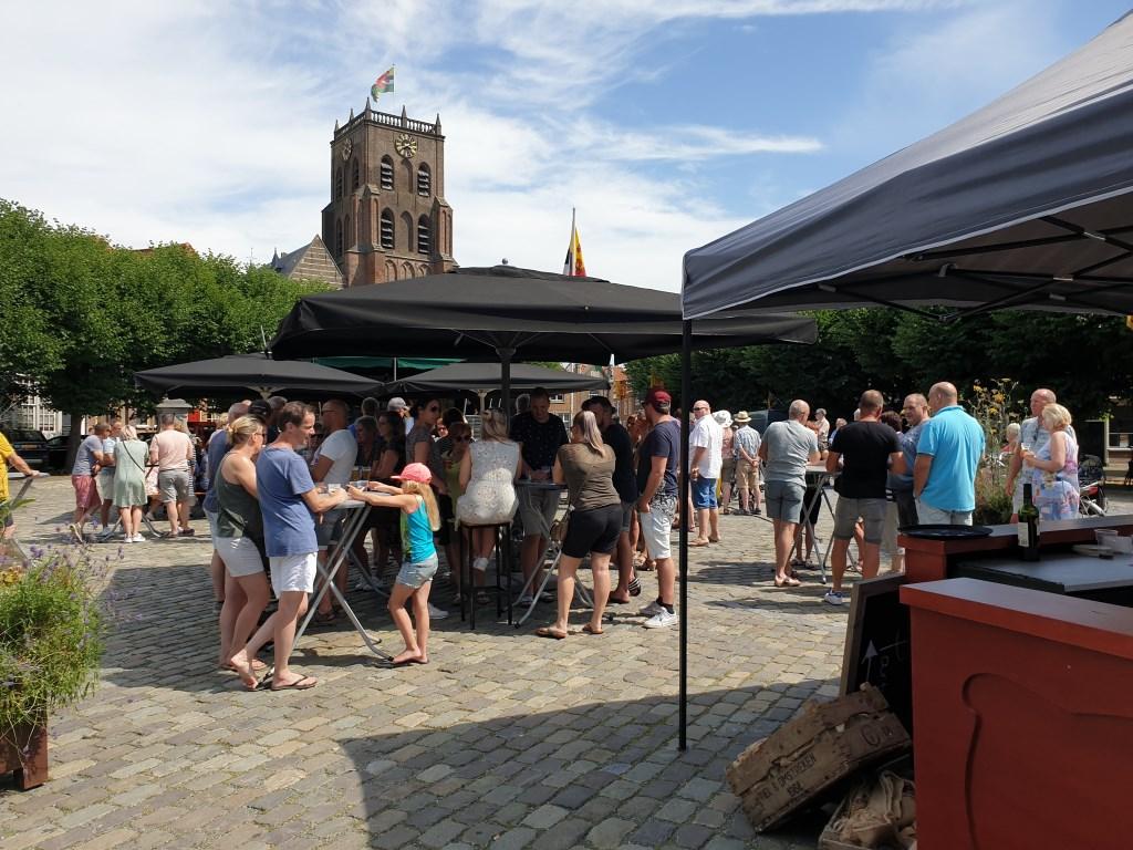 Sfeervolle markt in Geertruidenberg Foto: Gemeente Geertruidenberg © DPG Media