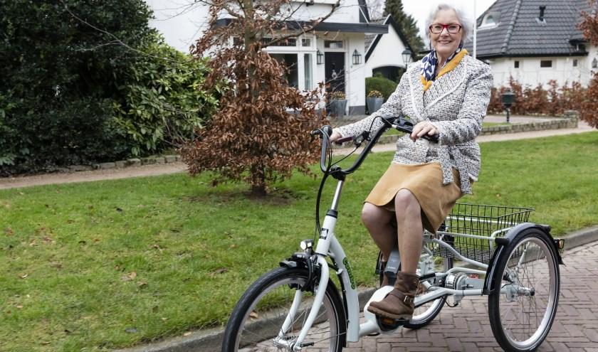 Op de drielwielfietsen van Senzup kan men veiliger en stabieler fietsen. Op 27 juli is in Roosendaal een proefdag.