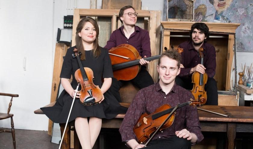 Op maandag 12 augustus speelt het Babylon Quartet op Buitenplaats Doornburgh in Maarssen tweemaal een concert van één uur: om 14.00 uur enom 16.00 uur. Foto: Buitenplaats Doornburgh