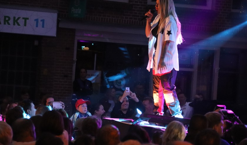 Glennis Grace schitterde zaterdagavond bij Culemborg bijvoorbeeld met haar bekende songs