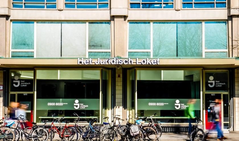 Pand van juridisch loket in Rotterdam aan de Weena.