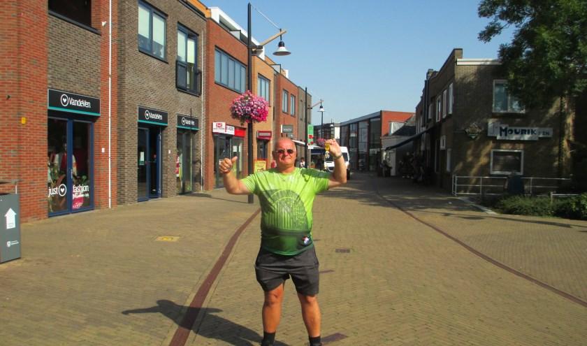 Ed Grootveld heeft de Nijmeegse Vierdaagse dit keer met succes uitgelopen. (Foto: Privé)