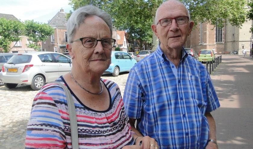 Echtpaar Haverkamp: ''Al dat Engels hoeft voor ons niet, laten we het maar bij Nederlands houden...''