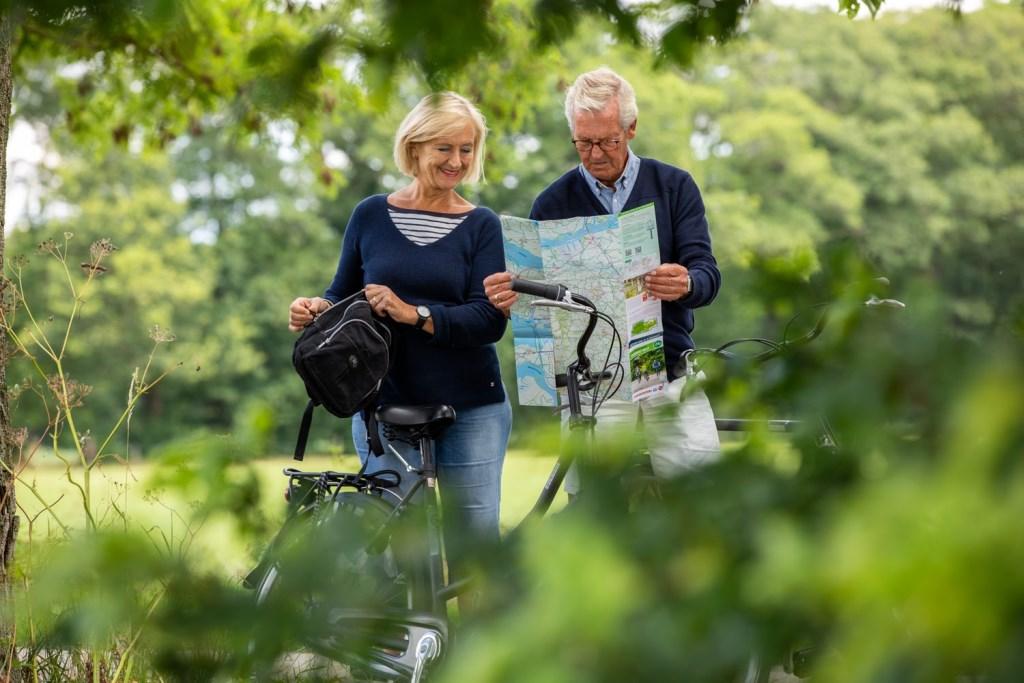 Voor de fietsliefhebbers zijn de nieuwe kaarten ideaal om Brabant te verkennen. Stippel je rit uit van knoop-punt naar knooppunt en laat je verrassen als je over de - mooiste - fietspaden en wegen van Brabant fietst.  © DPG Media