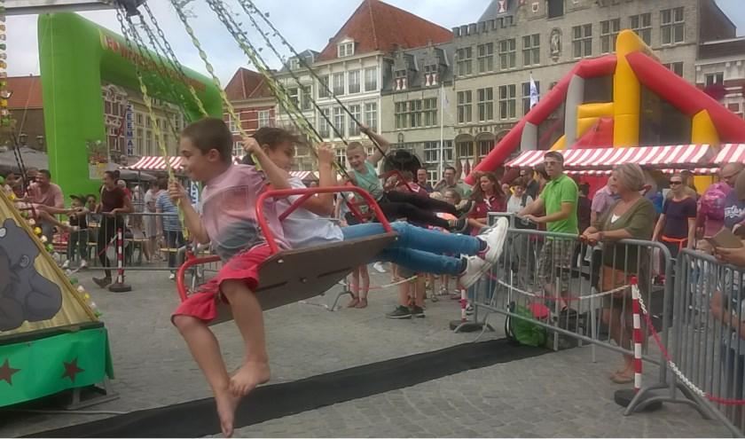 Op deze zondag wordt de Grote Markt omgebouwd tot een ware speeltuin voor kinderen.