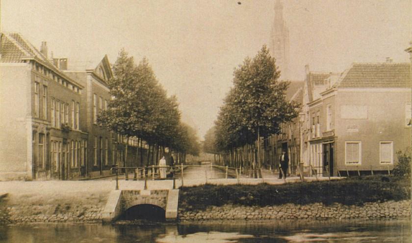 Nieuwe Langendijk in 1895.