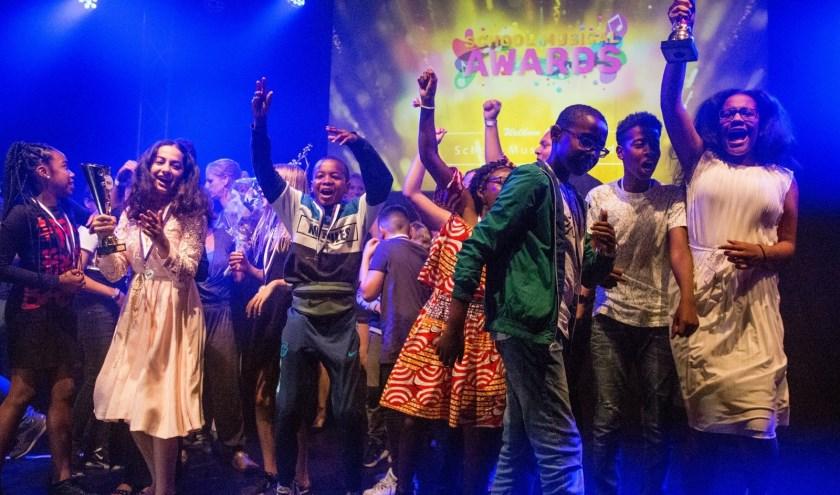 Foto: Hans van der Boom. Jacobusschool wint School Musical Award 2019. En nog 18 andere kinderen vielen in de prijzen!