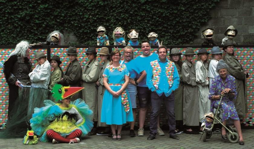 Toneelvereniging Mariahout speelt 'Hans en Grietje'.