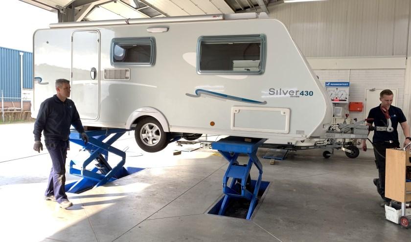 ''Ga veilig op vakantie en laat je kampeermiddel controleren'', aldus Richard Hiddink, van de gelijknamige kampeerzaak in Tubbergen.