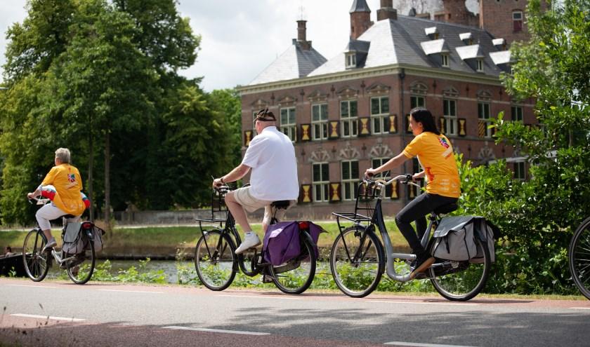 Tijdens de Utrechtse Fietsvierdaagse is er veel aandacht voor cultureel erfgoed, zoals kastelen en buitenplaatsen.