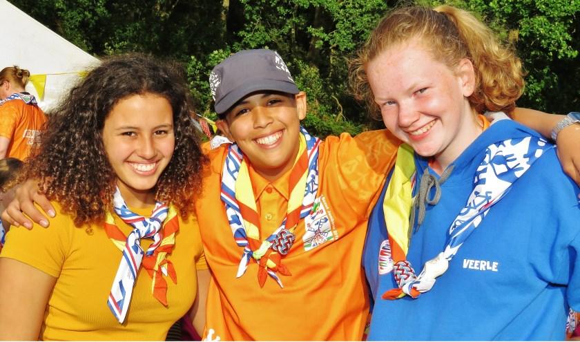 Rory Loïs, Jordan en Veerle gaan met Troep Kazen naar de Wereld Jamboree
