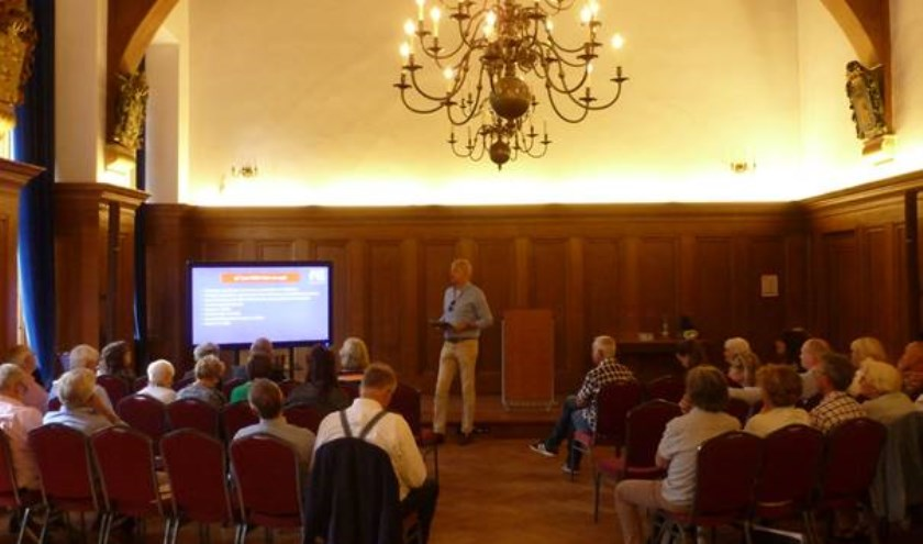 De presentaties van de verschillende ideeën op dinsdag 2 juli.