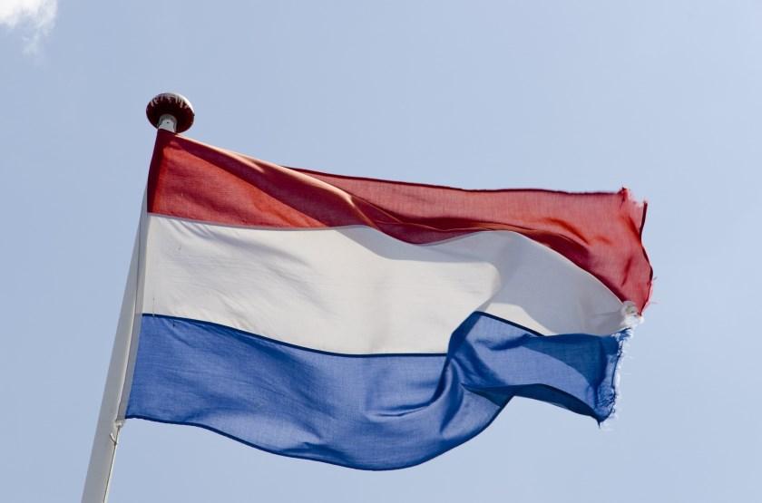 Nederlandse vlag.
