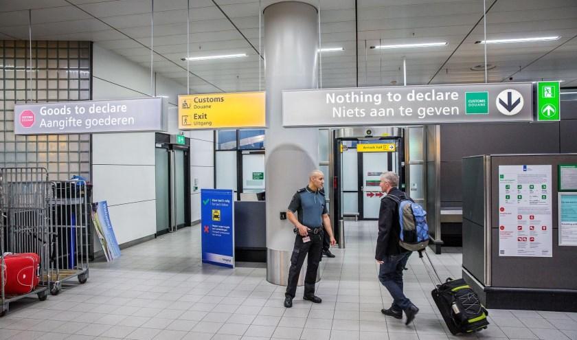 Aankomsthal Schiphol