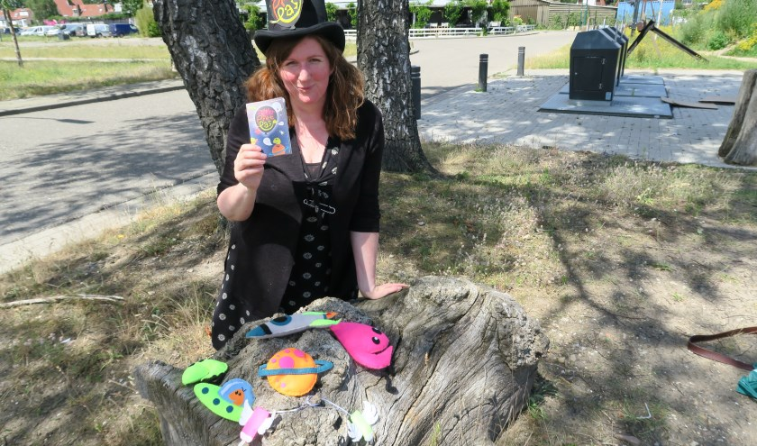 Kath Duin, initiatiefnemer van de ZomerPretPas, bestemd voor alle Amersfoortse kinderen van de basisschool.