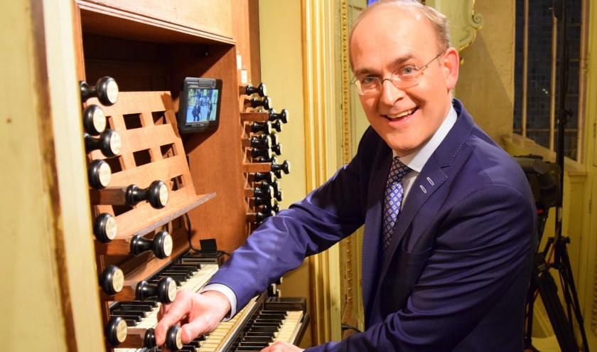 Organist Harm Hoeve