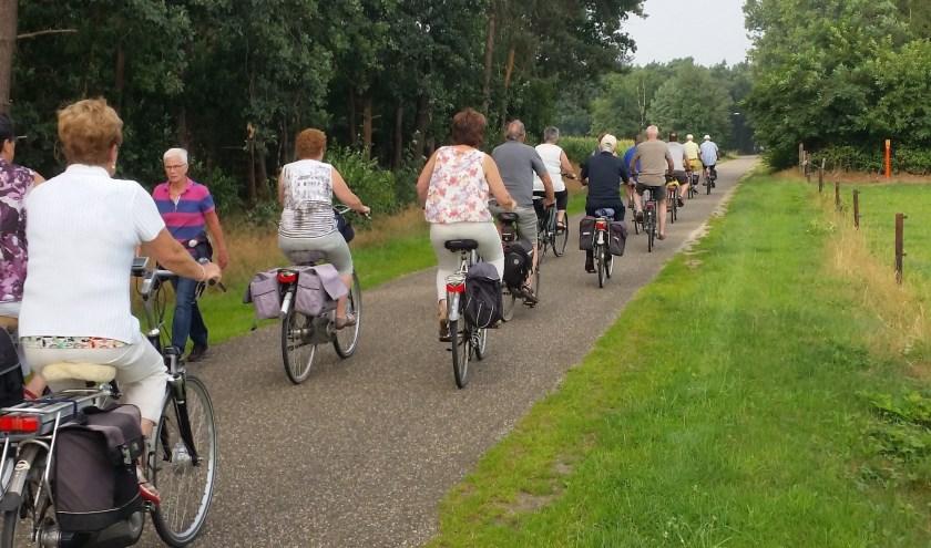 De routes van het Heezer Fiets Weekend gaan langs de mooiste plekjes rond Heeze.