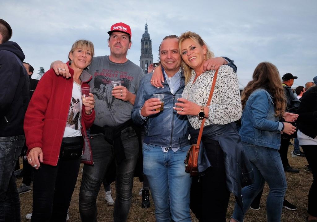Zelfs mensen uit België kwamen een kijkje nemen in Rhenen.  © DPG Media