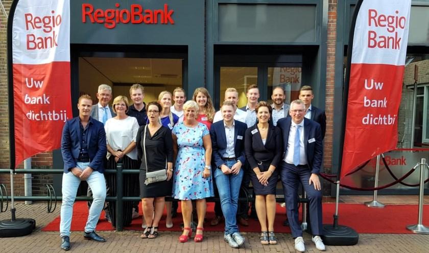 RegioBank heeft haar deuren geopend aan de Kerkstraat 24 iN Hattem.