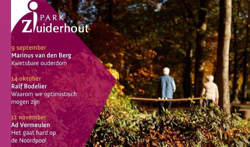 Dit najaar biedt Levenskunst 4 interessante lezingen aan in Park Zuiderhout in Teteringen en iedereen is daarbij weer van harte welkom.