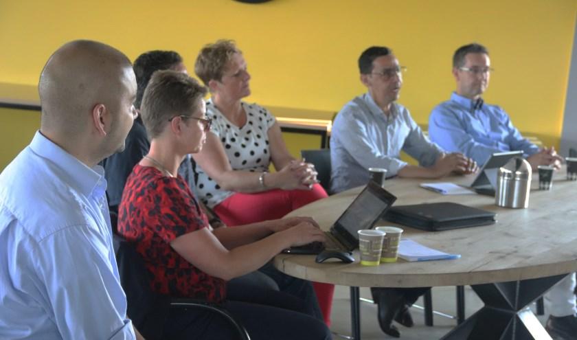 Het nieuwe bestuur presenteerde zich voor haar leden van Focus '07