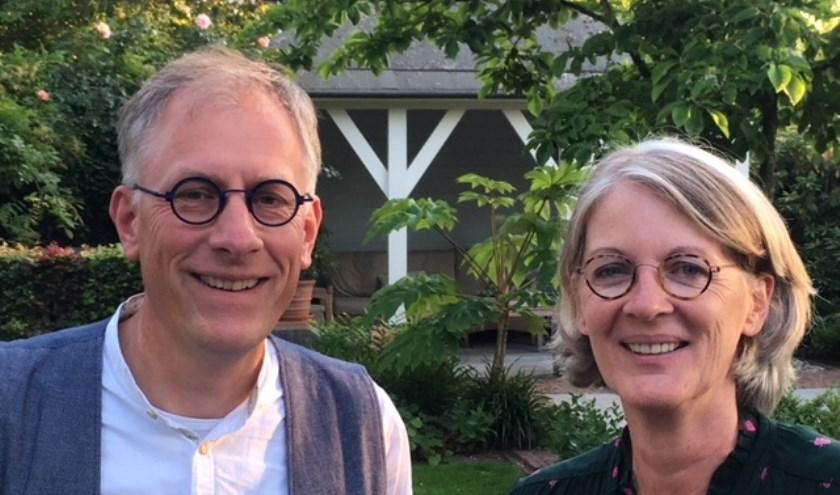 """Teus Korevaar en Ellen Hullekes: """"Binnen de kerk wordt verschillend gedacht over homoseksualiteit''."""
