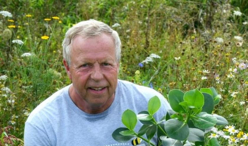 Ronald Verbeek, van de bloemen op de wal van de Rondweg.