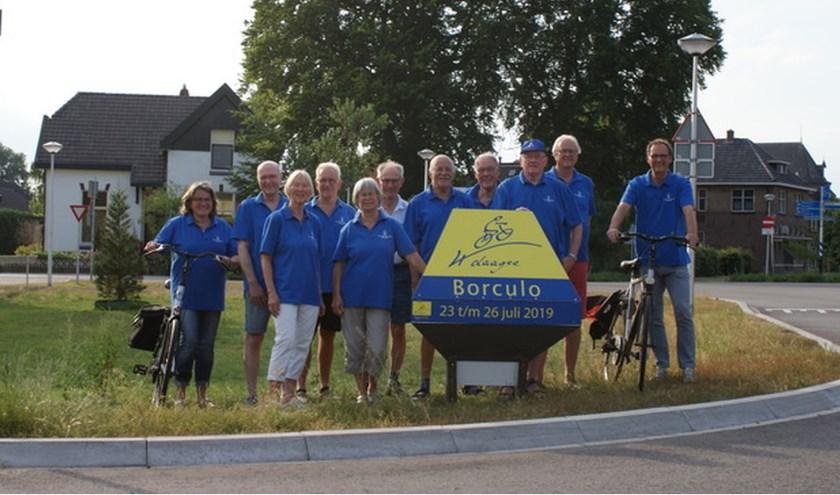 De vrijwilligers van de Fiets4daagse zijn klaar met de voorbereidingen en ontvangen vanaf 23 juli veel fietsliefhebbers bij de Zompenloods.