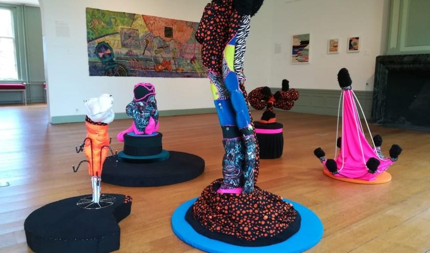 Connected - sculptuur te zien tijdens de expositie. Foto: Hans de Vos