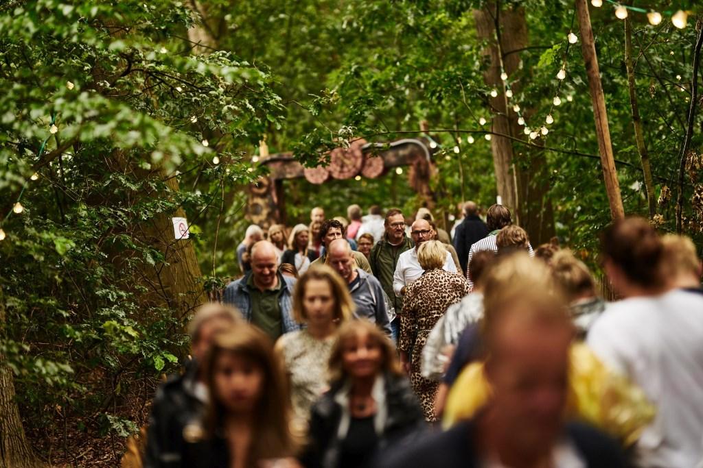 Als je een festival houdt op zo'n mooie locatie als het Hulsbeek, is er meteen een mooie entourage. Foto: Melvin Winkeler © DPG Media
