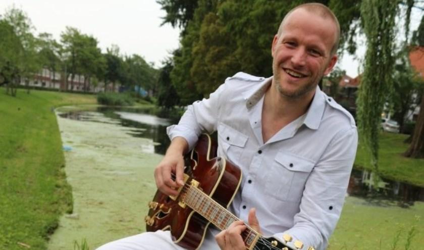 Zanger/gitarist Jeroen Janssen. (Foto: Privé)