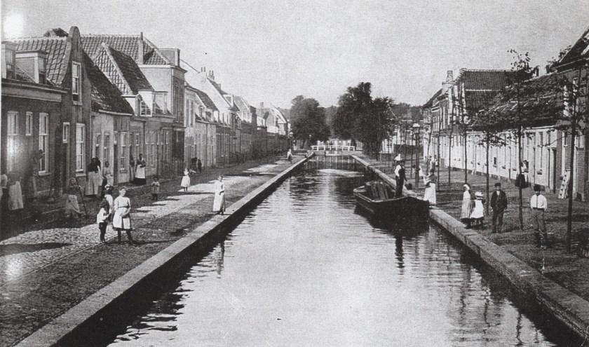 De Raam als gracht in de jaren 1920.