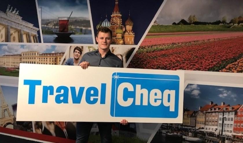 TravelCheq is een initiatief van Christian Verschoor, de vierde generatie uit het Hardinxveldse familiebedrijf Verschoor Reizen. (Foto: Privé)