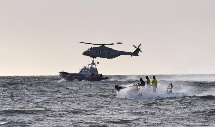 Een beeld van een eerdere reddingsdemonstratie.
