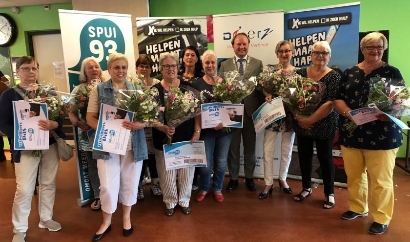 De eerste Zwijndrechtse uitreiking van de VrijwilligersPas 2019-2020.