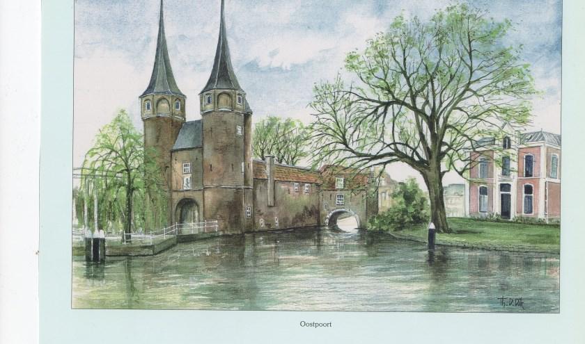 De Oostpoort is de enige overgebleven stadspoort.