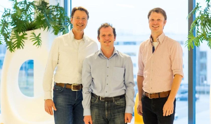 V.l.n.r. F. van Dielen, A. Luijten en W. Leclercq.